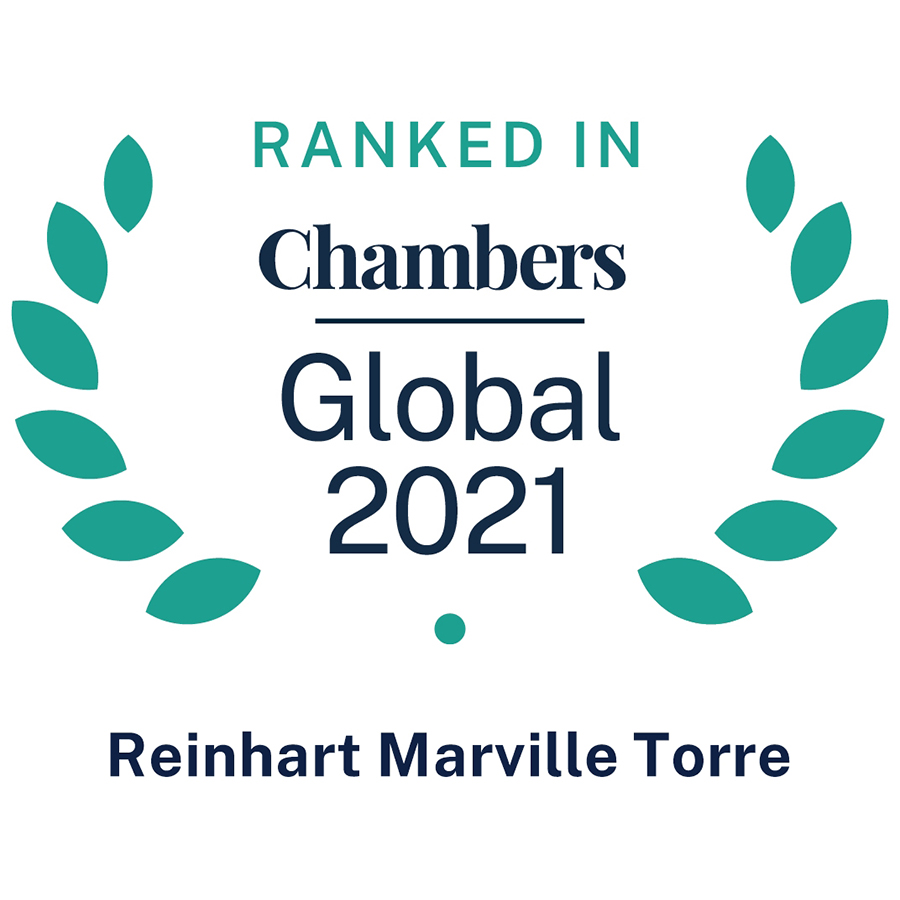 Reinhart Marville Torre • Ranked in Chambers Global 2021
