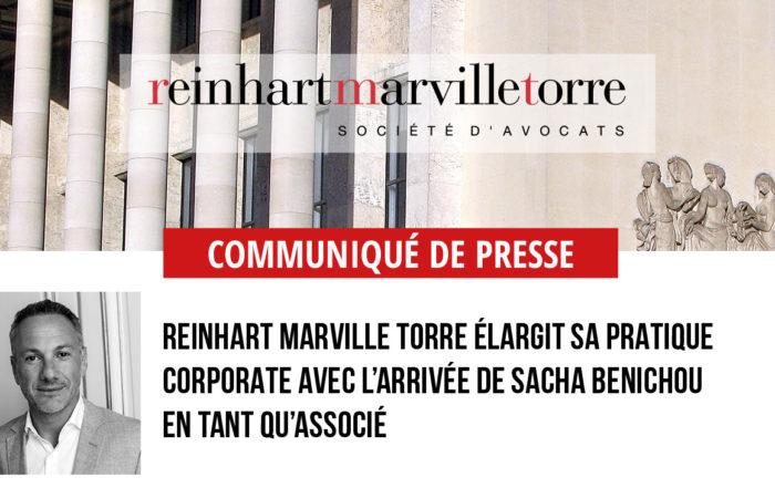 RMT • Communiqué de presse Sacha Benichou