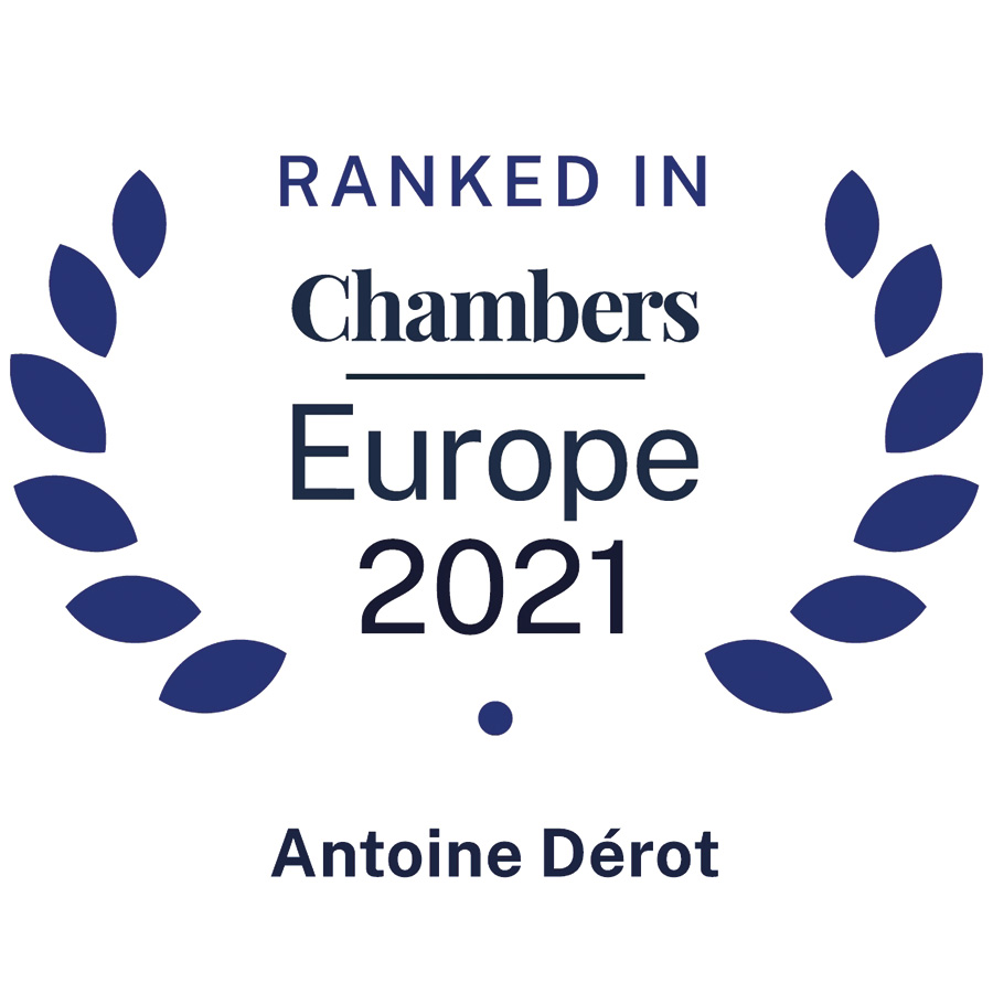 Antoine Dérot • Reinhart Marville Torre • Ranked in Chambers Europe 2021